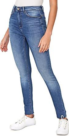 Only Calça Jeans Only Skinny Estonada Azul