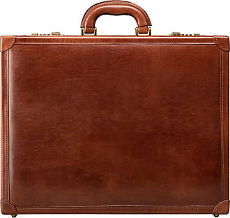 576e5c2910b8 Maxwell Scott Maxwell Scott - Luxury Finely Crafted Tan Leather Attache  Briefcase For Men