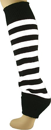 MySocks Leg Warmers White Black