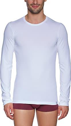 Schiesser Mens Shirt 1/1 Arm Vest, White-White (100-White), X-Large