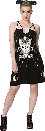 Banned 9 Lives Strappy Alternative Dress - Black/S