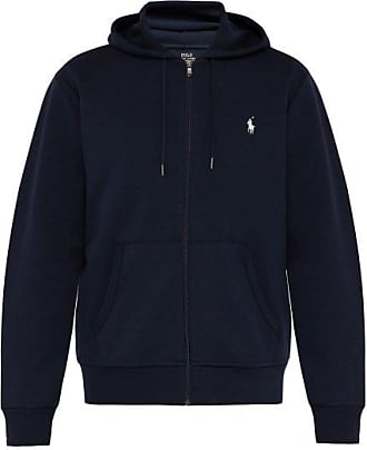 Polo Ralph Lauren Logo-embroidered Hooded Sweatshirt - Mens - Navy