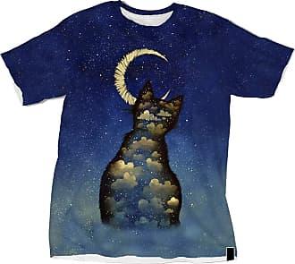 NA Cat and Crescent Moon 3D Shirt
