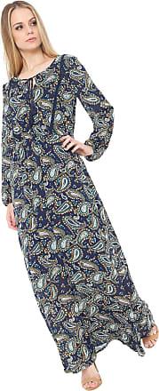 a8e1f370c9 Fiya Lady Vestido Fiya Lady Longo Amarração Azul-marinho