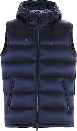 Herno Fashion Man PI068UR123449201 Blue Polyamide Vest | Fall Winter 20