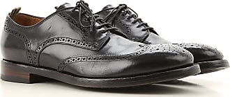Officine Creative Lace Up Shoes for Men Oxfords, Derbies and Brogues On Sale, Black, Leather, 2019, 10 7 7.5 8 9.5