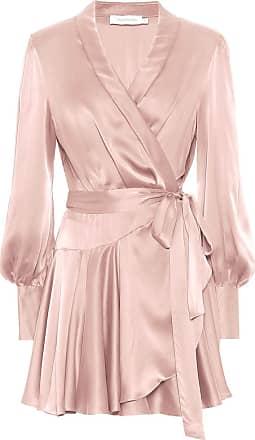 Zimmermann Exklusiv bei Mytheresa - Kleid Super Eight aus Seidensatin
