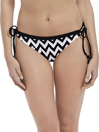 Freya Making Waves Italini Tie Side Bikini Brief Black Black Medium