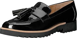 Franco Sarto Womens L-Carolynn Loafer Flat, Black, 10 M US