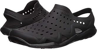 Crocs Swiftwater Wave (Black/Black) Mens Sandals