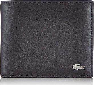 f56500186e Lacoste Portefeuille Cuir Homme, Porte-Monnaie, Noir (Black), 3x9.