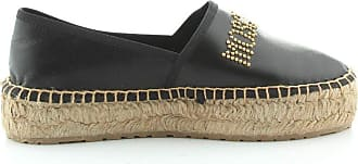 Love Moschino Fashion Woman JA10393G0AJA0000 Black Polyester Espadrilles | Spring Summer 20