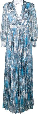 Alice & Olivia floral print maxi dress - Blue