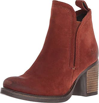 Bos. & Co. Womens Belfield Ankle Boot, Brick Oil Suede, 41 M EU (10-10.5 US)