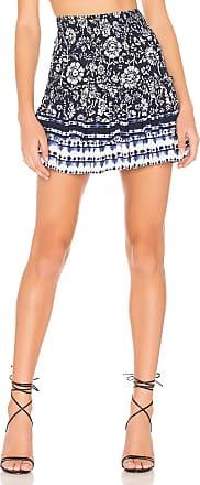 BB Dakota Well Traveled Skirt in Navy