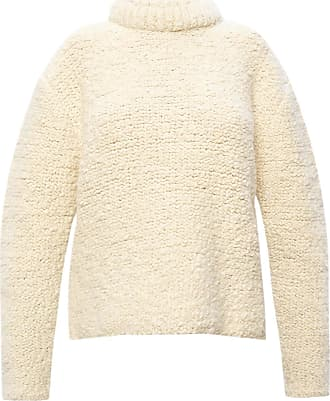 Jil Sander Band Collar Sweater Womens White