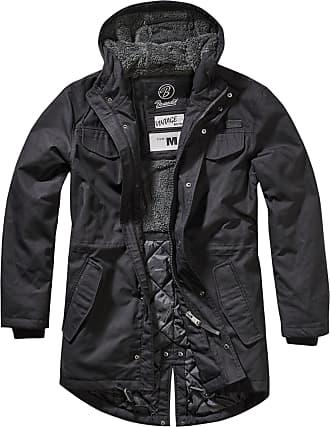 Brandit Marsh Lake Teddyparka Winter Jacket Black XXL