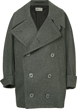 Kolor double breasted coat - Grey