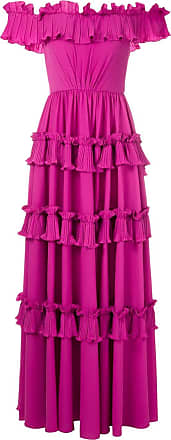 OLYMPIAH Vestido longo Concours - Rosa