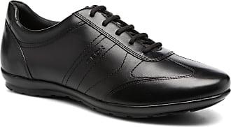Geox U Symbol B U74A5B - Sneaker für Herren   schwarz a1c632662b