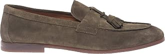 Doucal's Suede Loafers with Tassels, 43.5 Green