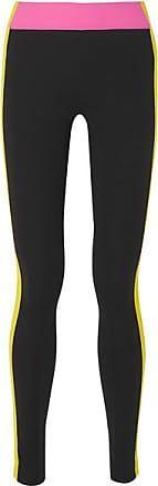 No Ka'Oi Loli Kala Striped Stretch Leggings - Black