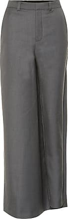 Y / Project High-rise wool-blend skirt