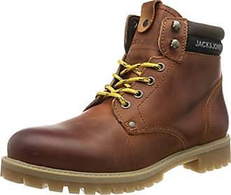 Bottes Chukka Homme Jack /& Jones Jfwtubar Leather Brandy STS
