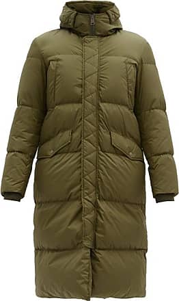 Herno Hooded Down-quilted Coat - Mens - Khaki