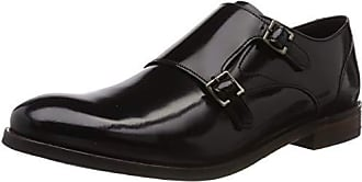 a25c0b61 Clarks Edward Monk, Mocasines para Hombre, Negro (Black Leather-), 43