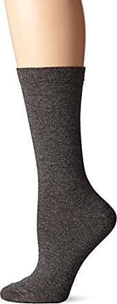 Ozone Womens Pima Cotton Mid Zone Sock Heather Charcoal, 9-11