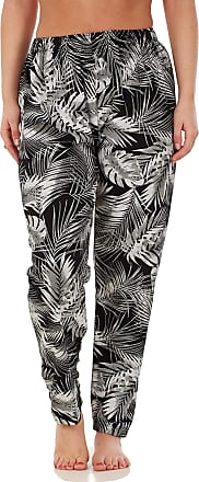 JD Williams Ladies Women Trouser Elasticated Printed Tapered Harem High Waist Regular Pants