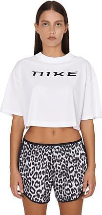 Nike Nike sportswear Crop t-shirt WHITE/BLACK L