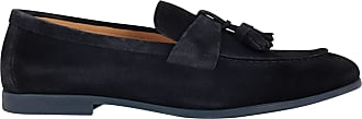 Doucal's Fashion Man DU1910ELBAUZ067LB00 Blue Suede Loafers | Spring Summer 20