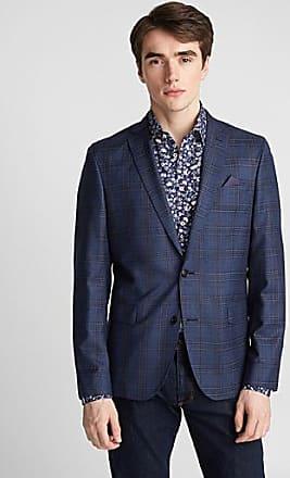 Sand Copenhagen Blue check jacket