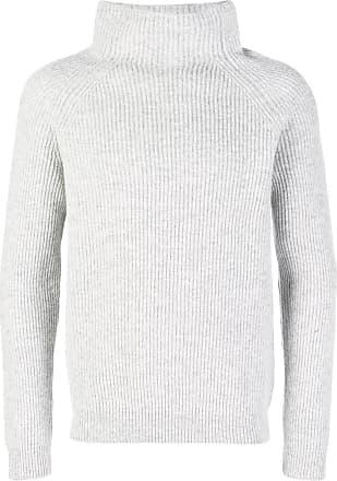 Zanone Suéter de tricô canelado - Cinza