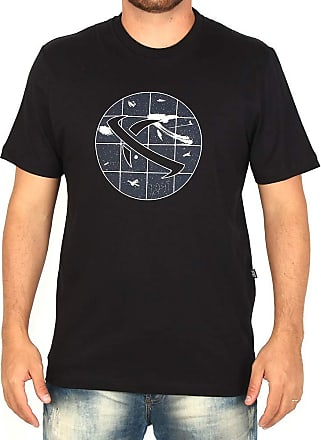 Lost Camiseta Lost Space Saturn - Preta - GG
