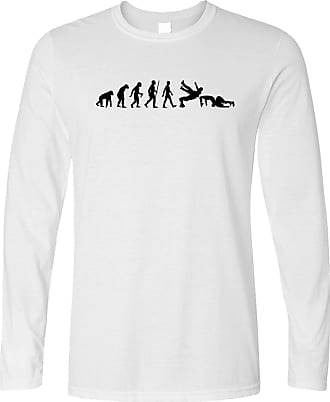 Tim And Ted Wrestling Long Sleeve The Evolution of Wrestling White Medium