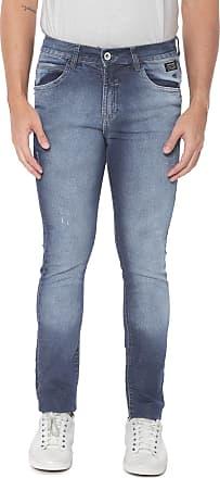 Fatal Surf Calça Jeans Fatal Skinny Estonada Azul