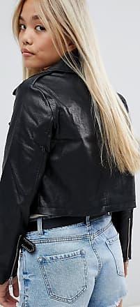 d4780ffa4b Asos Petite ASOS DESIGN Petite ultimate leather look biker jacket - Black
