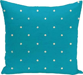 E by design Dorothy Dot Geometric Print Outdoor Pillow
