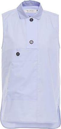 Marni Marni Woman Cotton-poplin Shirt Lilac Size 42