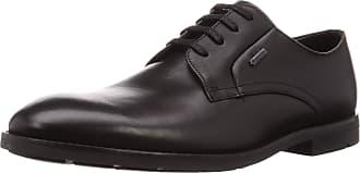 Clarks Mens Ronnie Walk GTX Derbys, Black Black Leather Black Leather, 8 UK