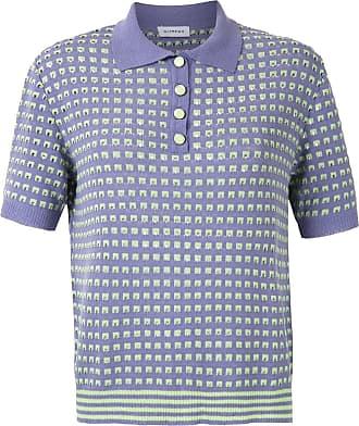 OLYMPIAH Camisa polo Nika de tricô - Roxo