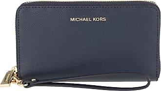 Michael Kors Jet Set LG Flat Phone Case Navy