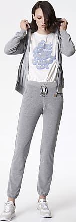 Sugarfree Grey velour straight leg pants