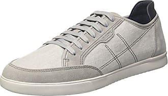 ginnastica da scarpe GEOX WALEE E Pelle grigio evolution