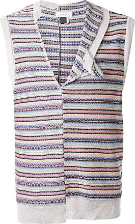 Facetasm Blusa de tricô listrada - Estampado