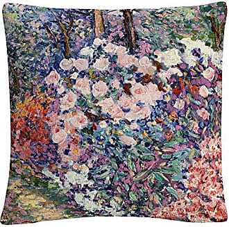 Trademark Fine Art Flowers in The Forest Pink Abstract by Masters Fine Art