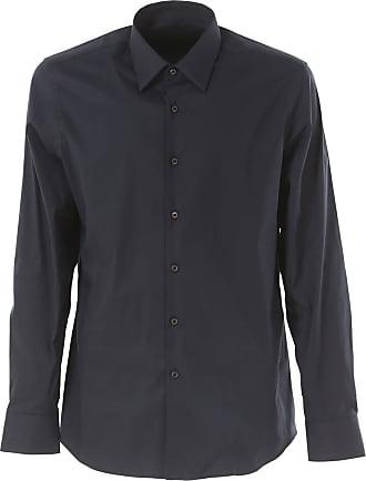Prada Camicia Con Stampa Fumetti BLACK BLACK Uomo Camicie